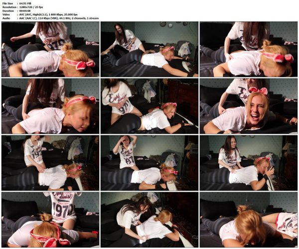 TickleTherapy - Roommates Vika's Revenge On Masha FoxTickleTherapy